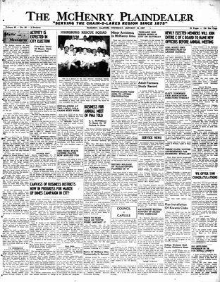 McHenry Plaindealer (McHenry, IL), 10 Jan 1957