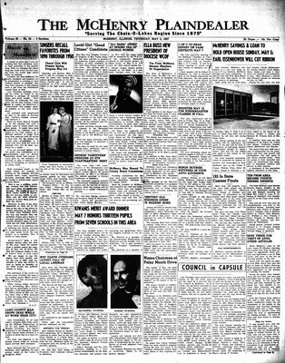 McHenry Plaindealer (McHenry, IL), 2 May 1957