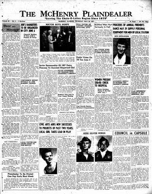McHenry Plaindealer (McHenry, IL), 23 May 1957