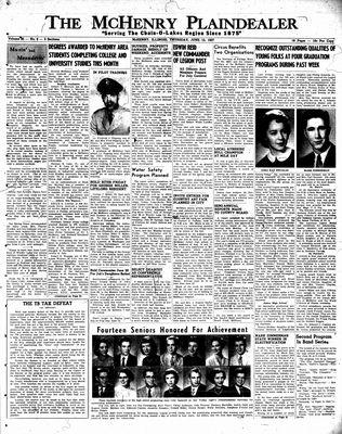 McHenry Plaindealer (McHenry, IL), 13 Jun 1957