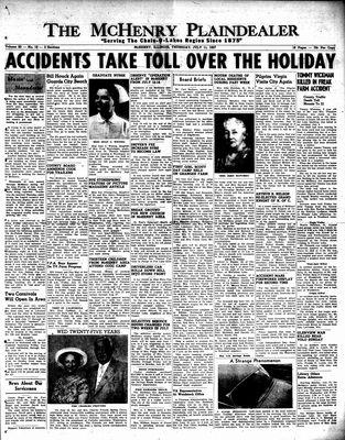 McHenry Plaindealer (McHenry, IL), 11 Jul 1957