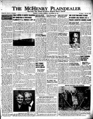McHenry Plaindealer (McHenry, IL), 26 Sep 1957