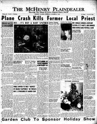 McHenry Plaindealer (McHenry, IL), 31 Oct 1957
