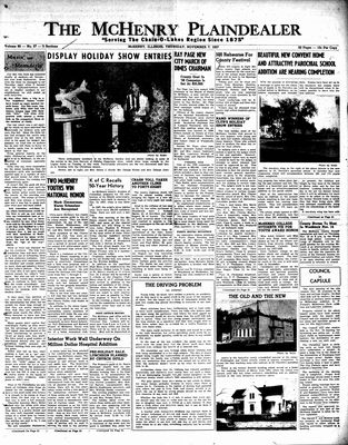 McHenry Plaindealer (McHenry, IL), 7 Nov 1957
