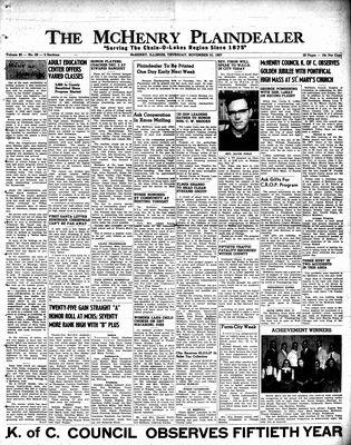 McHenry Plaindealer (McHenry, IL), 21 Nov 1957