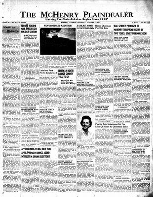 McHenry Plaindealer (McHenry, IL), 2 Jan 1958