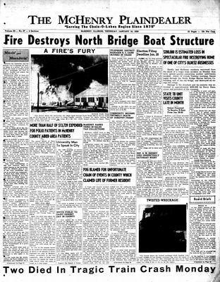 McHenry Plaindealer (McHenry, IL), 16 Jan 1958