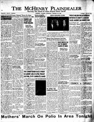 McHenry Plaindealer (McHenry, IL), 30 Jan 1958