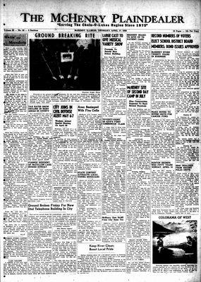 McHenry Plaindealer (McHenry, IL), 17 Apr 1958