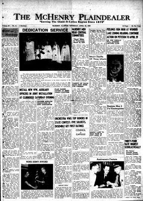 McHenry Plaindealer (McHenry, IL), 24 Apr 1958