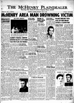 McHenry Plaindealer (McHenry, IL), 8 May 1958