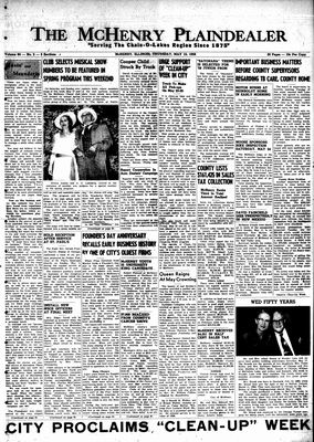 McHenry Plaindealer (McHenry, IL), 15 May 1958
