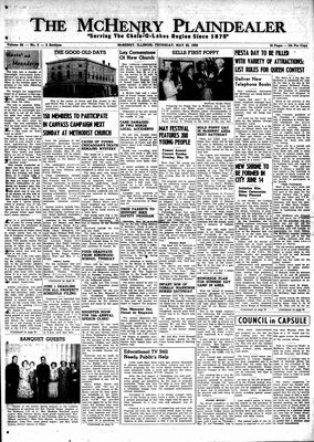 McHenry Plaindealer (McHenry, IL), 22 May 1958