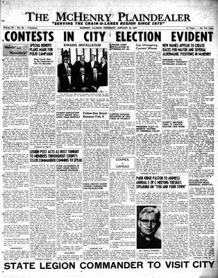 McHenry Plaindealer (McHenry, IL), 24 Jan 1957