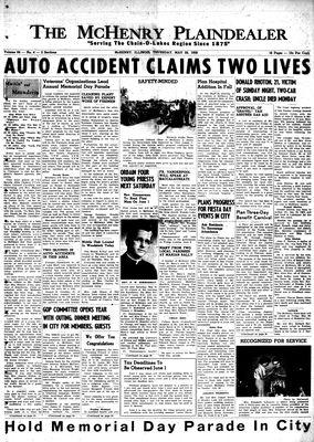McHenry Plaindealer (McHenry, IL), 29 May 1958