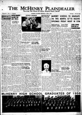 McHenry Plaindealer (McHenry, IL), 5 Jun 1958