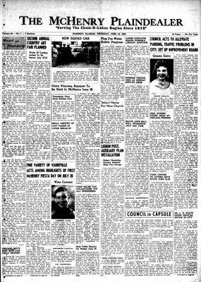 McHenry Plaindealer (McHenry, IL), 19 Jun 1958