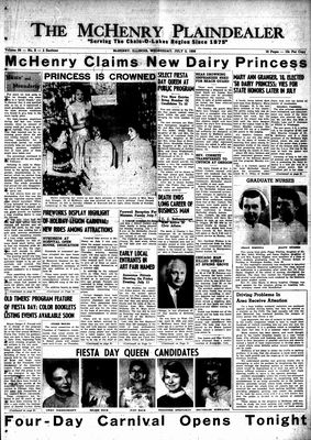 McHenry Plaindealer (McHenry, IL), 2 Jul 1958