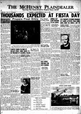 McHenry Plaindealer (McHenry, IL), 17 Jul 1958