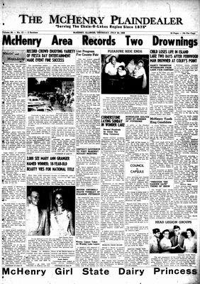 McHenry Plaindealer (McHenry, IL), 24 Jul 1958