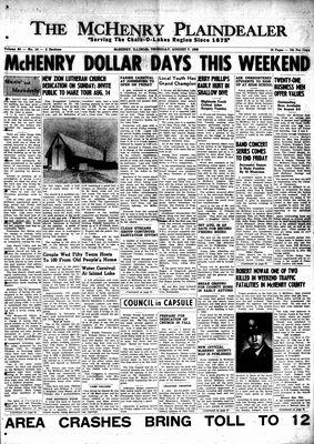 McHenry Plaindealer (McHenry, IL), 7 Aug 1958
