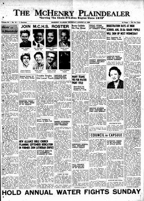 McHenry Plaindealer (McHenry, IL), 21 Aug 1958