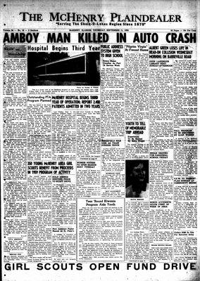 McHenry Plaindealer (McHenry, IL), 11 Sep 1958