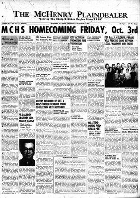 McHenry Plaindealer (McHenry, IL), 2 Oct 1958