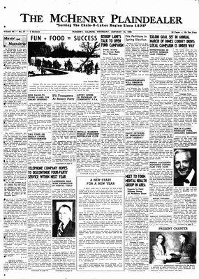 McHenry Plaindealer (McHenry, IL), 15 Jan 1959