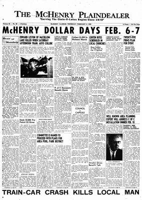 McHenry Plaindealer (McHenry, IL), 5 Feb 1959