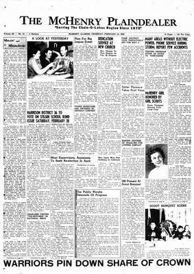 McHenry Plaindealer (McHenry, IL), 12 Feb 1959