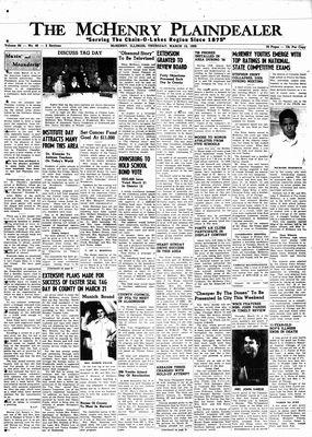 McHenry Plaindealer (McHenry, IL), 12 Mar 1959