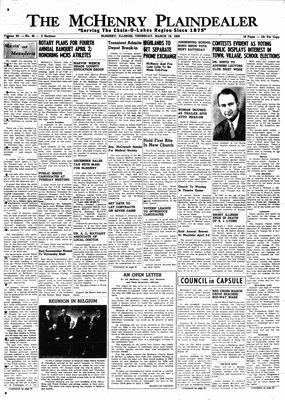 McHenry Plaindealer (McHenry, IL), 19 Mar 1959