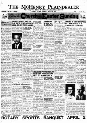 McHenry Plaindealer (McHenry, IL), 26 Mar 1959