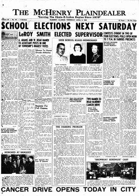 McHenry Plaindealer (McHenry, IL), 9 Apr 1959