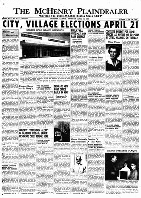 McHenry Plaindealer (McHenry, IL), 16 Apr 1959