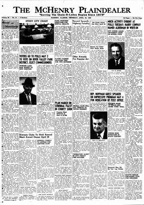McHenry Plaindealer (McHenry, IL), 23 Apr 1959