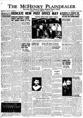 McHenry Plaindealer (McHenry, IL), 30 Apr 1959