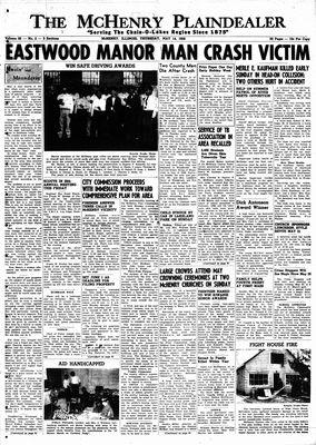 McHenry Plaindealer (McHenry, IL), 14 May 1959