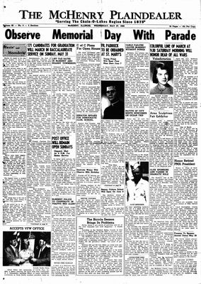 McHenry Plaindealer (McHenry, IL), 27 May 1959