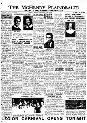 McHenry Plaindealer (McHenry, IL), 1 Jul 1959