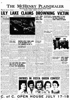 McHenry Plaindealer (McHenry, IL), 9 Jul 1959