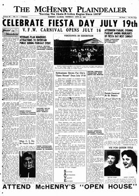 McHenry Plaindealer (McHenry, IL), 16 Jul 1959