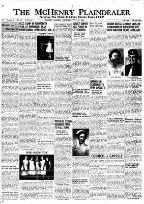 McHenry Plaindealer (McHenry, IL), 30 Jul 1959