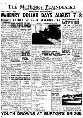 McHenry Plaindealer (McHenry, IL), 6 Aug 1959