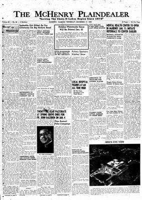 McHenry Plaindealer (McHenry, IL), 17 Dec 1959