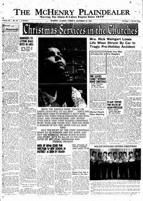 McHenry Plaindealer (McHenry, IL), 22 Dec 1959