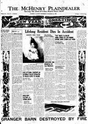 McHenry Plaindealer (McHenry, IL), 30 Dec 1959
