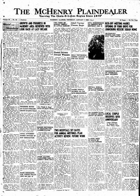 McHenry Plaindealer (McHenry, IL), 6 Jan 1960