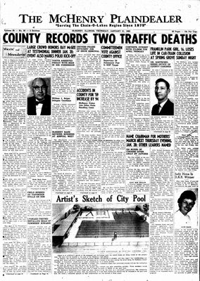 McHenry Plaindealer (McHenry, IL), 21 Jan 1960